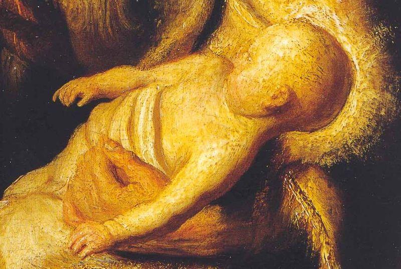 Rembrandt bambino