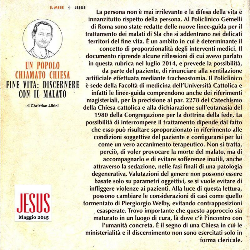 Jesus maggio 2015